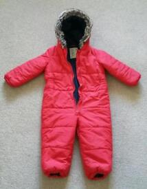 NEXT padded waterproof all-in-one. Size 2-3 yrs.