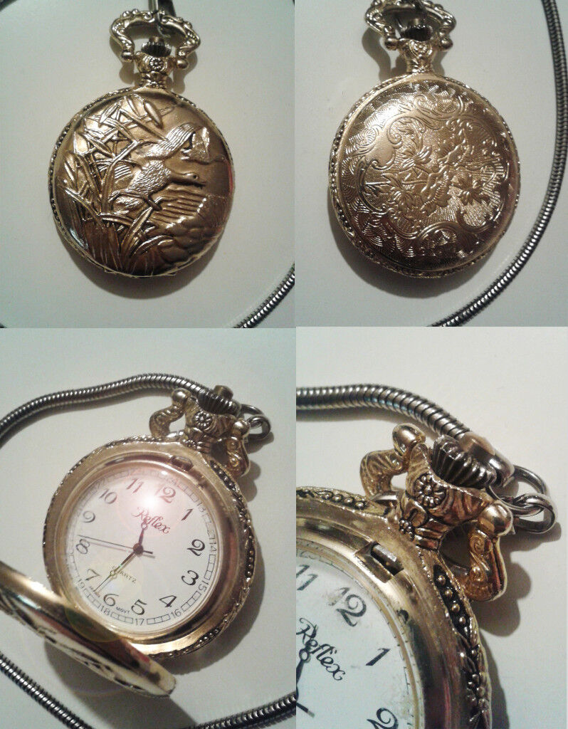 Vintage retro vintage Quartz pocket watch