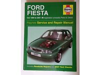 Haynes Service and Repair manual – Ford Fiesta – Oct 1995 to 2001