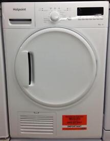 ***NEW Hotpoint 8kg condenser sensor dryer for SALE with 1 year guarantee***