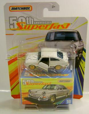 1965 '65 VW TYPE 3 FASTBACK SUPERFAST 50TH ANNIVERSARY MATCHBOX DIECAST 2019