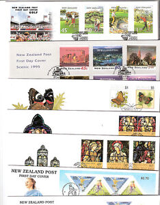 New Zealand 1995 FDC Fine used NZ FREE POST face $70 19  First Day Covers $34.90