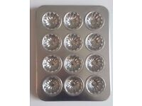 Small Metal Chocolate Mould Tray - 16cm x 21cm