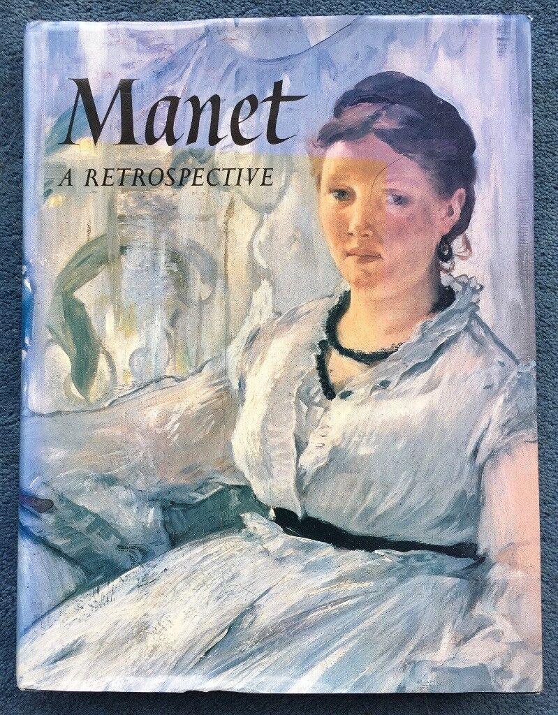 MANET - A Retrospective - Large Format Book