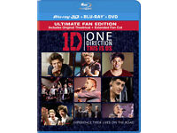 3D BLU RAY DVD 1D ONE DIRECTION THIS IS US IN 3D & BLURAY ULTIMATE FAN EDITION.*