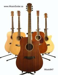 Acoustic Guitar Nice Look Sapele 41 inch Brand New iMusic647