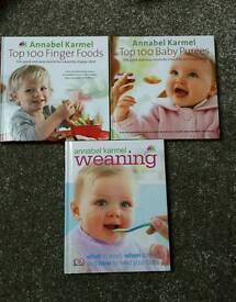 Annabel Karmel books x 3