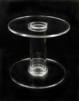 2 PIECES Acrylic CAKE Display Holder cupcake Stand 12
