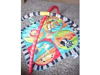 bright starts play gym mat