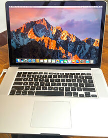 Macbook Pro 15' HUGE Spec: AS NEW & Apple Warranty - Retina, 2.7 GHz i7, 16 GB Ram, 256 GB Flash