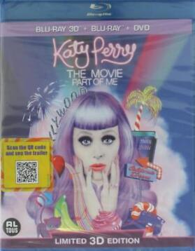 blu-ray - Katy Perry - The Movie, Part Of Me