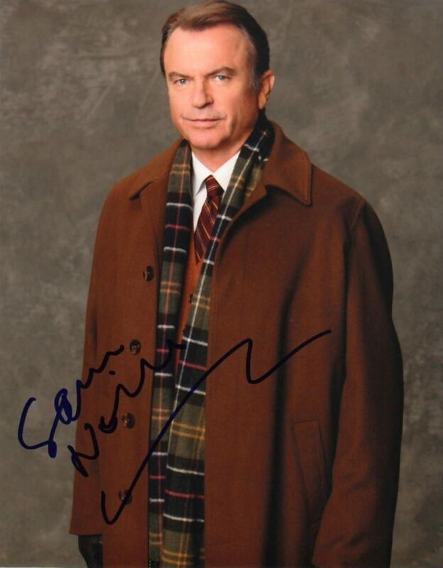 SAM NEILL.. Happy Town - SIGNED