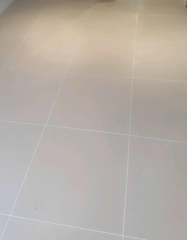 Porcelain floor tiles 60×60 mat cream