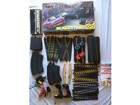 BATMAN Scalextric Set with Extra Track, Cars etc VINTAGE ANALOG £80 ono