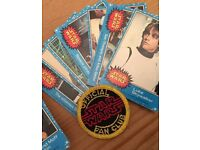 Star Wars 1977 Blue cards & cloth Badge