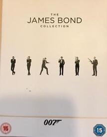 James Bond - 23 Film Collection UV code ONLY
