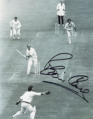"""BRIAN CLOSE-YORKSHIRE & ENGLAND TEST CRICKETER-SIGNED 10x8"""" PHOTO #3-AFTAL/UACC"""