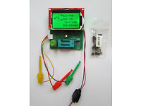 EZM Electronics Studio EZM328 passive (LCR/ESR), semi conductors components tester, power supply