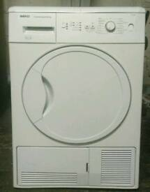 BEKO 8KG CONDENSER DRYER **FREE LOCAL DELIVERY 3 MONTHS GUARANTEE**