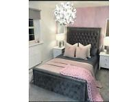 BRAND NEW Divan Ottoman Storage Bed Assembled Gas Lift + free Delivery!