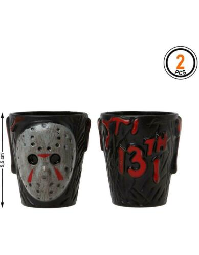 Set van 2 friday the 13th shotglaasjes