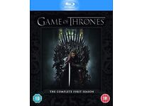MINT!! GAME OF THRONES COMPLETE SEASON 1!!! (BLU-RAY)