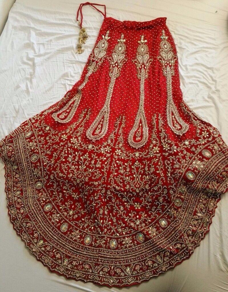 Bridal wedding lengha