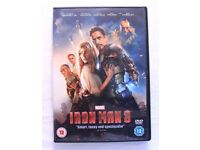 Iron Man 3 (Film DVD)