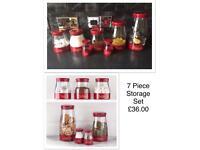 7 piece storage set BRAND NEW