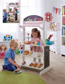 Kids Wooden Shop With Canopy & Accessories (collection only)