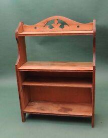 Antique shelf unit