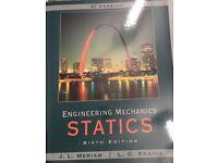 Engineering Mechanics - Statics Sixth edition