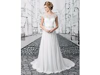 Justin Alexander wedding dress - size UK 8 - RRP £1,200