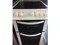 LOGIK 50cm wide double oven with grill free delivery and warranty
