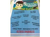 Quran/Tajweed & Islamic Knowledge Tuition Classes