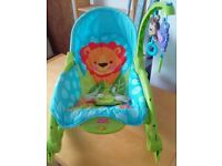 Fisher Price Baby to Toddler Rocking Chair