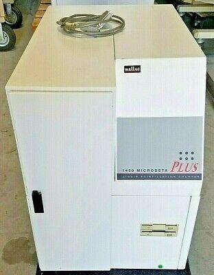Wallac Microbeta 1450 Plus Liquid Scintillation Counter With Program Disks