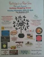 partridge in a pear tree holiday shopping event