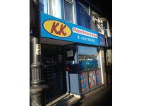 K K FISH & CHIPS AND CURRY HOUSE FOR SALE