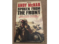 Andy McNab - Spoken From The Front - Hardback