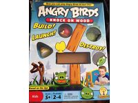Angry Birds - Knock on Wood Game by Mattel