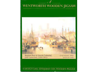 WENTWORTH WHIMSY WOODEN JIGSAW- BRAYFORD POOL & LINCOLN CATHEDRAL- 250 pieces