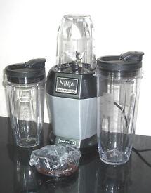 Nutri Ninja Pro Blender BL450 900W Blender Juicer with 3 Sip & Seal Cups GREY