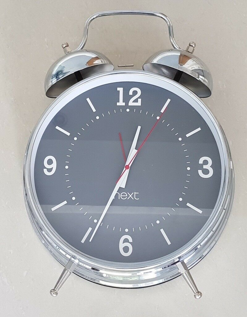 Next Xl Chrome Alarm Clock In Northenden Manchester Gumtree