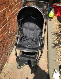 Oyster max 2 double pushchair