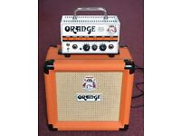 Orange Micro Terror Head and Cab
