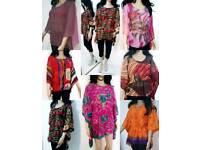 Batwing Waterfall Poncho Kimono Tunic kurta Tops kaftan JOBLOT At Wholesale reduced price