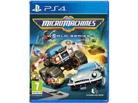 SONY PLAYSTATION PS4 GAME MICROMACHINES WORLD SERIES CODEMASTERS MICRO RACING.**