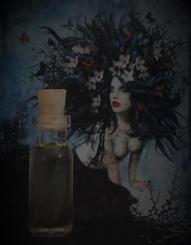 UNINHIBITED Ritual Oil Potion Oil Anointing Oil Spell Oil~Wicca Witchcraft Pagan