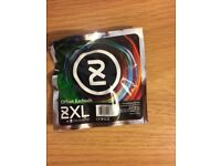 2XL Offset Earbuds by SkullCandy One Pair Green Earphones NEW & SEALED